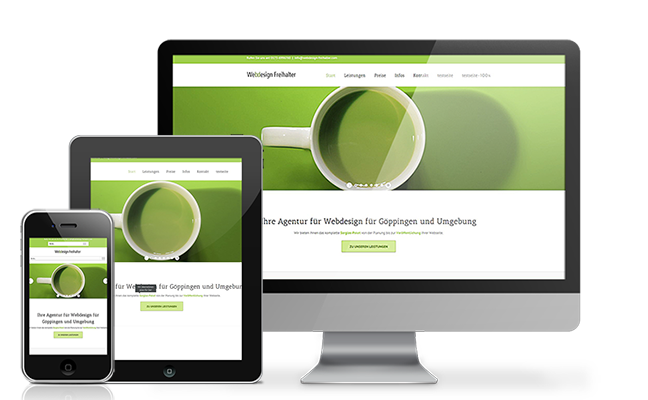 Webdesign Freihalter in Göppingen
