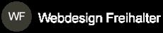 Webdesign Freihalter Logo