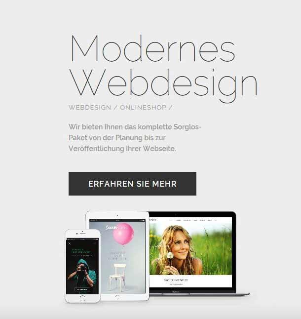 Homepage erstellen in Göppingen