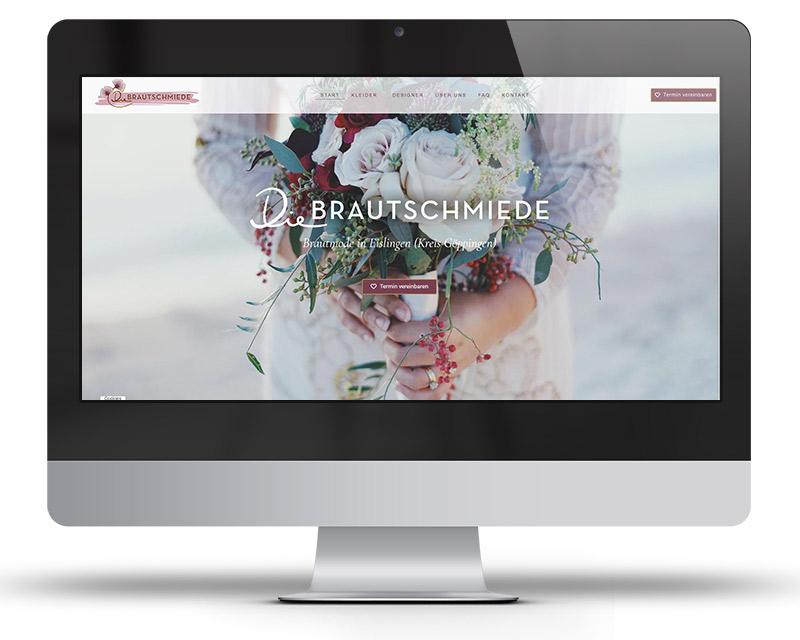 Die Brautschmiede. Brautmode in Eislingen